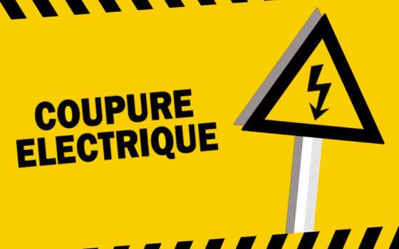 COUPURE DE COURANT LE MARDI 9 NOVEMBRE 2021
